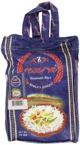 Zafarani Reserve Basmathi Rice 10-Pounds by Zafrani