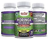 Premium Moringa Oleifera 800 Mg Pure Leaf...