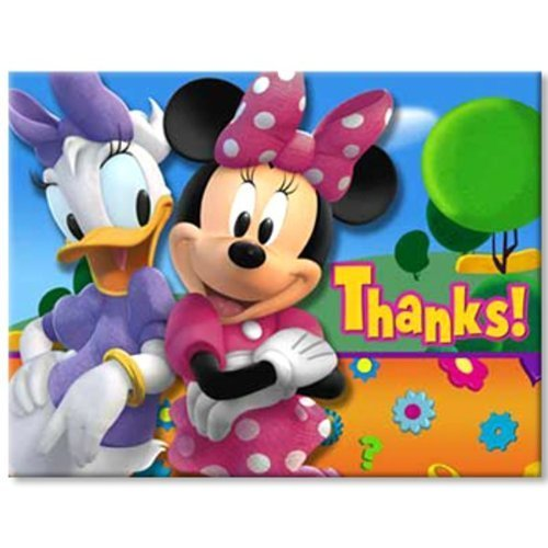 Minnie Mouse Thank You Party Supplies