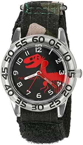 Red Balloon Kids' W002273 Time Teacher Analog Display Analog Quartz Black Watch