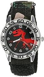 Red Balloon Kids' W002273 Time Teacher Analog Display Analog Quartz Black Watch