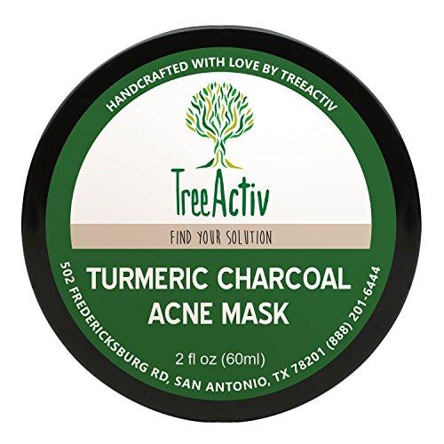 TreeActiv Turmeric Treatment Blackheads Exfoliating