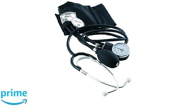 ArmoLine - Esfigmomanómetro aneroide pediátrico, presión arterial puño estetoscopio: Amazon.es: Salud y cuidado personal