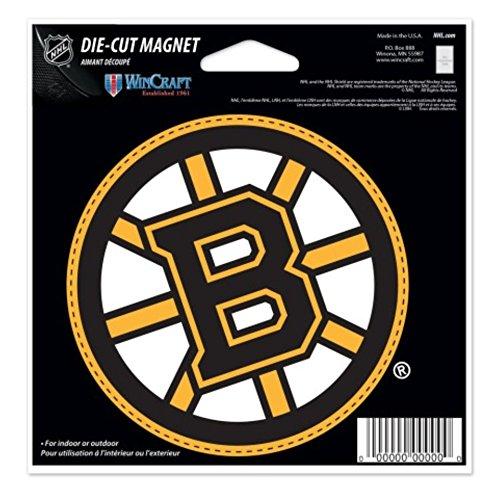 NHL Boston Bruins 4.5 x 6 inch Die Cut ()