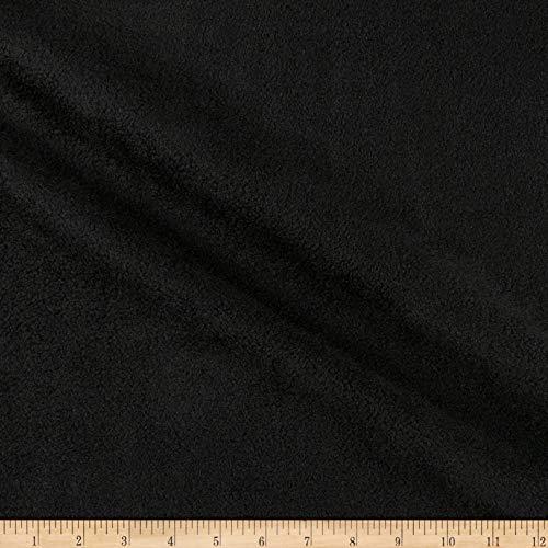 Richland Textiles Yukon Fleece Black (Bolt 12 Yard)