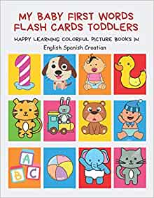 My Baby First Words Flash Cards Toddlers Happy Learning ...