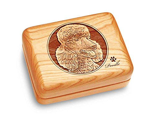 Heartwood Creations Music Box 4x3 - Poodle - Claire de ()