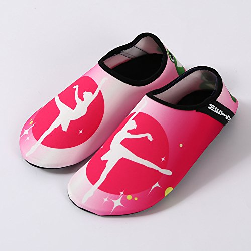 Water Lightweight Women Quick SENFI Kids 04pink Men Sport Water Camp Beach Dry Pool Shoes nXT6qFHT