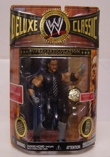 WWE Jakks Pacific Wrestling Exclusive Deluxe Classic Superstars Series 3 Action Figure Undertaker