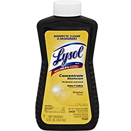 LYSOL Concentrate Disinfectant, Original Scent 12 oz ( Pack of 6)