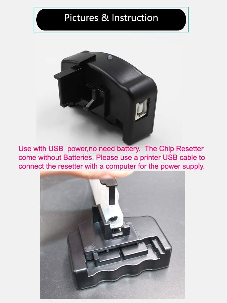 UniPrint refillable Ink Cartridge chip Resetter for Brother LC203 LC213 LC223 LC233 LC205 LC207 LC209 LC235 LC237 LC663 LC123 lc133 LC103 LC563