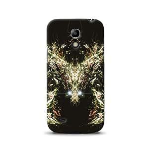 Diabloskinz D0105-0034-0016 - Carcasa impresa para Samsung Galaxy S4 Mini, diseño abstracto