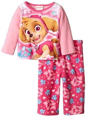 Price comparison product image Nickelodeon Baby Girls' Paw Patrol Super Skye 2 Piece Pajama Set,  Pink,  18 Months