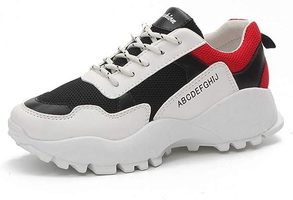 Zapatillas de Tenis para Mujer Zapatillas Ligeras Antideslizantes Transpirables Gimnasio al Aire Libre Zapatillas para Correr: Amazon.es: Zapatos y complementos