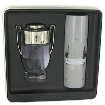Amazon.com: Invictus Cologne By PACO RABANNE Gift Set - 3.4 oz Eau ...