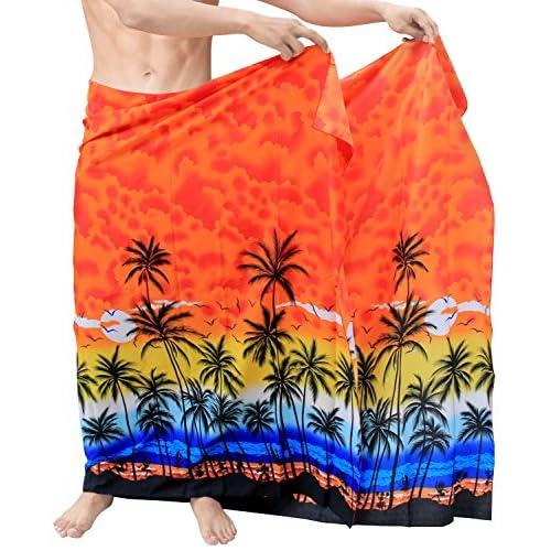 *La Leela* maillots de bain maillot de bain couvrir hommes Sarong pellicule paréo serviette de bain maillot de bain