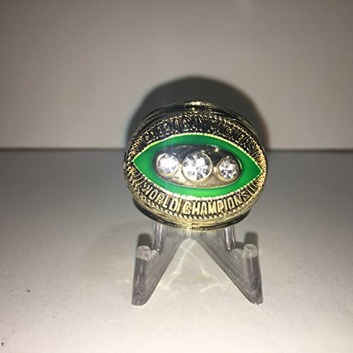 1967 Bart Starr #15 Green Bay Packers High Quality Replica 1967 Super Bowl II Ring Size 10.5-Gold Colored