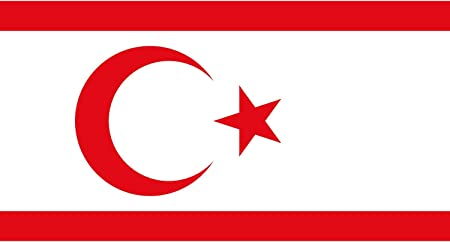 Amazon.com : DIPLOMAT-FLAGS Turkish Republic of Northern Cyprus ...