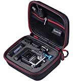 "Smatree® SmaCase G75- Small Case for Gopro Hero 4/3+/3/2/1 and Accessories (6.8"" x2.7"" x5"") - Travel & Household Case with Excellent Cut Foam Interior - Perfect Protection for Gopro Camera - Black"
