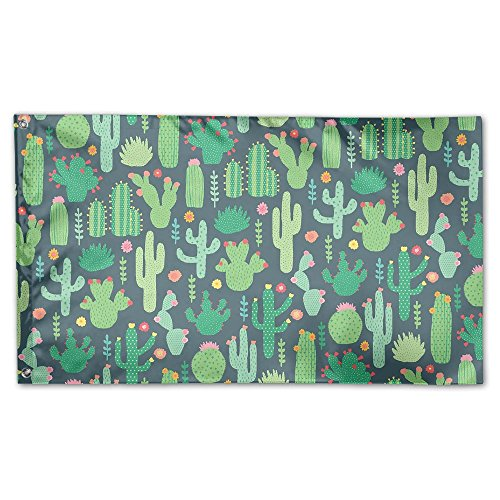 Cactus Sass Belle Garden Lawn Flags Indoor Outdoor Decoration Home Banner Polyester Sports Fan Flags 3 X 5 - Belle Keats La