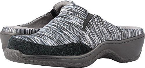 - SoftWalk Women's Alcon Mule, Black-Grey Multi/Black, 9 W US