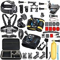 Accesorio para cámara SmilePowo Gopro Session para GoPro Hero 6,5 Black, Hero Session, Hero 5,4,3,3 +, Session, GoPro Fusion, AKASO, SJCAM, DBPOWER , Cámara de acción deportiva, Kit de accesorios