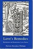 Love's Remedies, Patricia B. Phillippy, 0838752632