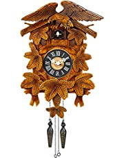 Kintrot Cuckoo Clock Handcrafted Wooden Eagle Antique Wall Clock Home Decor