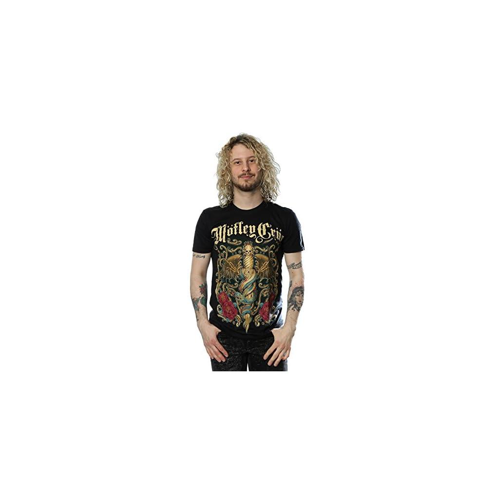 Motley Crue Hombre Exquisite Dagger Camiseta