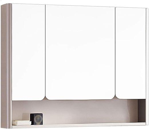 Amazon De Gxfc Edelstahl Badezimmerschrank Mit Spiegel