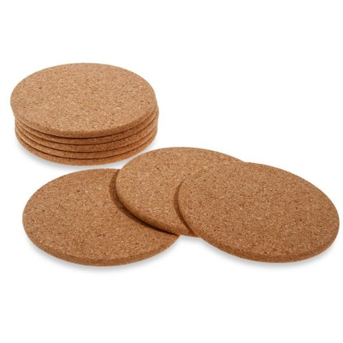 Thirstystone coasters cork set 8 product image