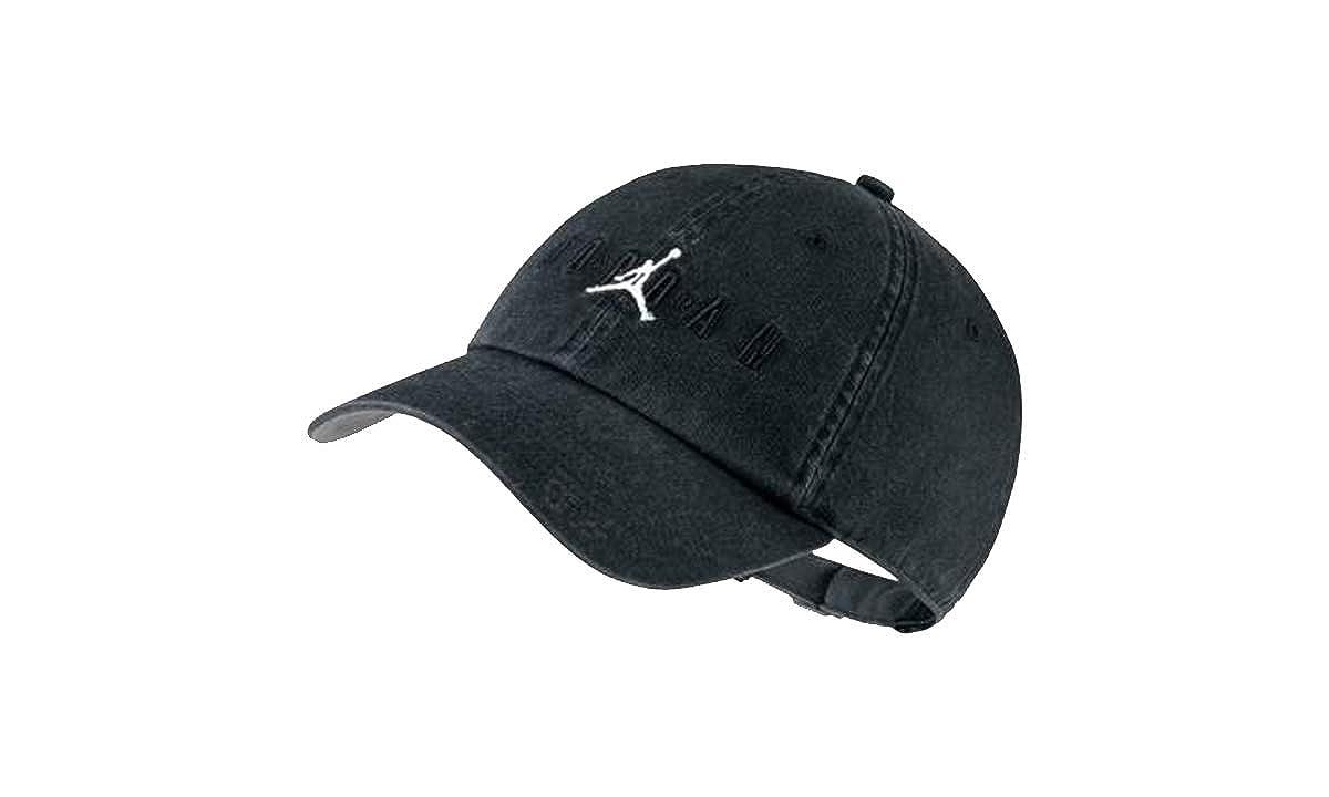 5a9f15bb25c Nike Jordan Heritage H86 Air Strapback Hat Black Grey AA1306-010 at Amazon  Men s Clothing store
