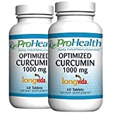 ProHealth Optimized Curcumin Longvida 2-Pack (1000 mg, 60 Tablets)