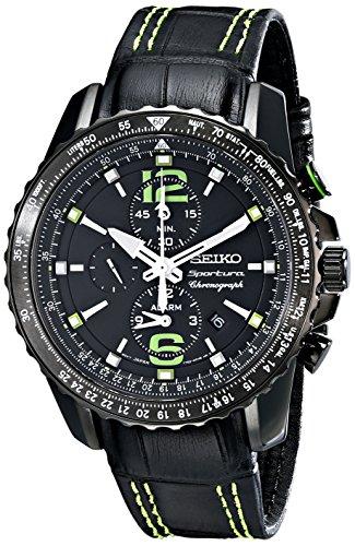 - Seiko Men's SNAE97 Sportura-Aviator Watch
