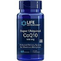 Life Extension Super Ubiquinol CoQ10 100 mg, 60 Softgels (1 Pack)