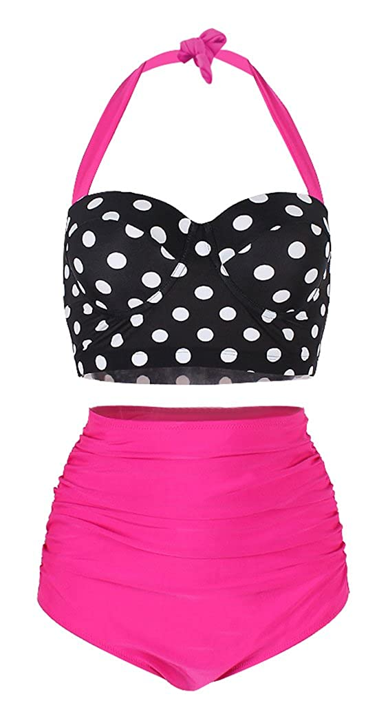 8522ce8a192e7 This retro bathing suit is dedicated to providing women with vintage  elegance
