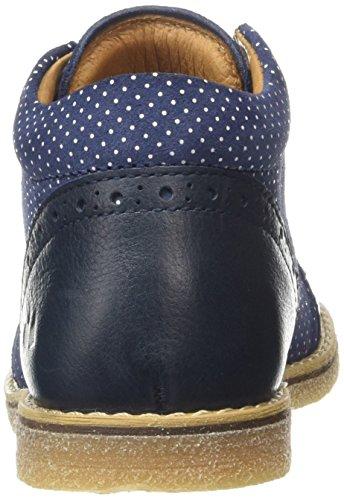 FroddoFroddo Baby Girls Shoe - Botines de Senderismo Bebé-Niños Azul (dark blue)