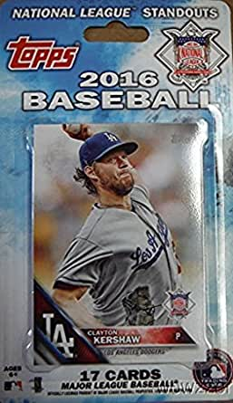 2016 Topps Baseball National League All Stars Factory Sealed EXCLUSIVE Special Limited Edition 17 Card Set with Bryce Harper, Clayton Kershaw, Buster Posey, Kris Bryant & Many More MLB Superstars!