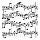 Beistle Musical Note Luncheon Napkin