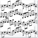 Musical Note Luncheon Napkins (2-Ply)    (16/Pkg)