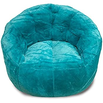 Amazon Com Cocoon Faux Fur Bean Bag Chair Multiple