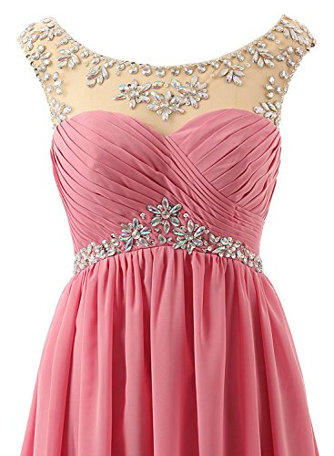 Sleeve Empire Mint Lang Gowns 2016 Formelle Ballkleid Crystal Damen Fanciest Abendkleider Cap aFgHHq