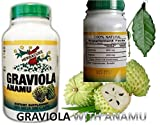 Graviola and Anamu 100 Capsules From Herbacure 100% Natural For Sale