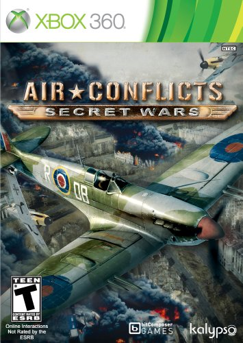 Air conflicts: secret wars xbox 360 game.