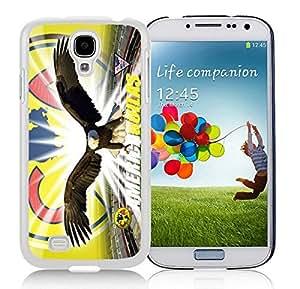 Club America 1 White Cool Photo Custom Samsung Galaxy S4 I9500 Phone Case