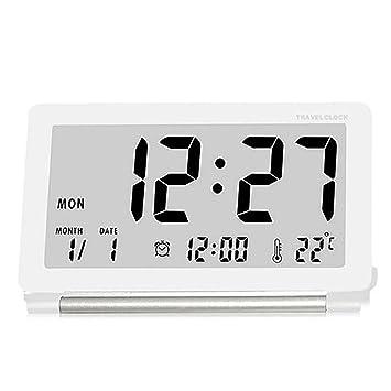 Uoging Despertadores De Viaje Despertador Digital Relojes de ...
