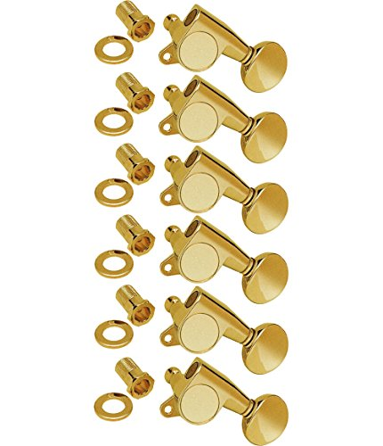 WD Music Tuners 6 In Line Gold