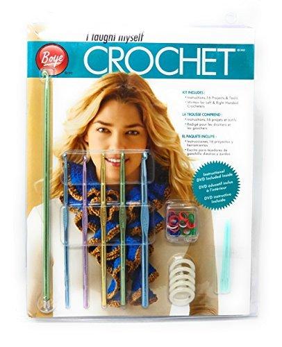 Boye 6397 Craft Supplies Beginners Teach Yourself Crochet Set 3626397000M