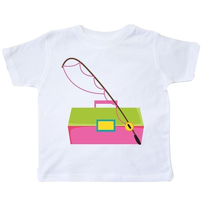 5ed6938b Amazon.com: inktastic - Fishing Tackle Girls Toddler T-Shirt: Clothing