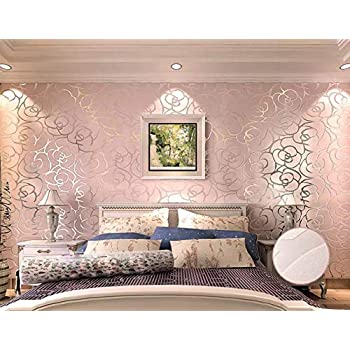 fractal geometric marble wallpaper rose gold fine decor
